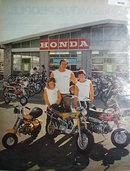Honda Motorcycle 1972 Ad.