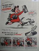 Kleenex Tissue 1948 Ad
