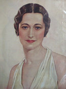 Portrait Of A Lady Wallis Warfield Simpson 1937 Article