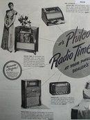 Philco Radio Time 1947 Ad.