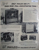Philco Full fidelity Phonograph 1950 Ad