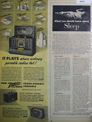 Zenith Portable Radios 1947 Ad.