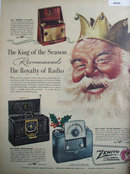 Zenith Portable Radios 1949 Ad.