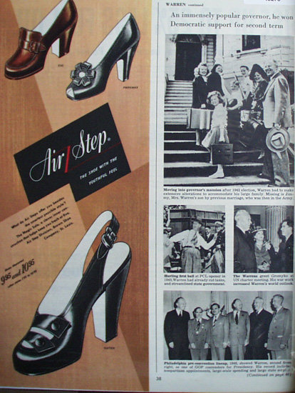 Air Step Shoes 1948 Ad.