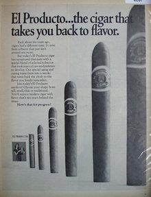 El Producto Cigar 1969 Ad.