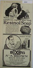 Resinol Soap 1920 Ad