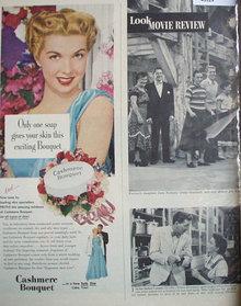 Cashmere Bouquet Soap 1950 Ad.