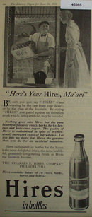 Hires Carbonated Drink 1920 Ad