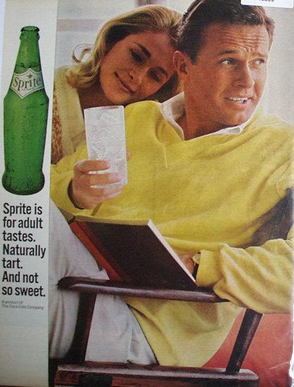 Sprite Cola 1964 Ad.