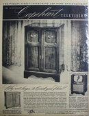 Capehart Television 1950 Ad