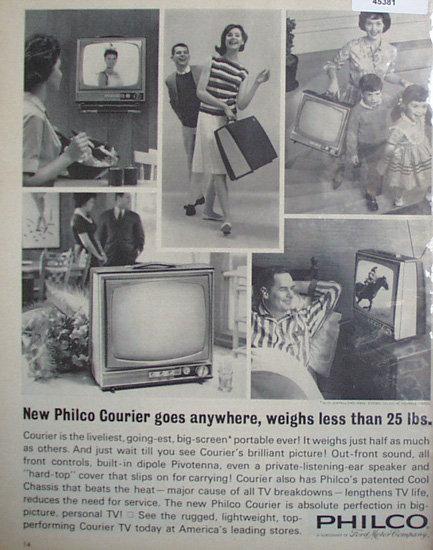 Philco Television 1963 Ad