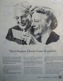 Bell Telephone System 1950 Ad.