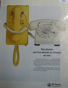 Bell Telephone System 1966 Ad