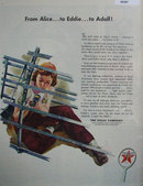The Texas Co. Texaco 1943 Ad