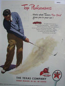 Texaco Fire Chief Gasoline 1948 Ad.