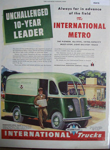 International Trucks 1948 Ad.