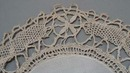Victorian Doily set with original calling card