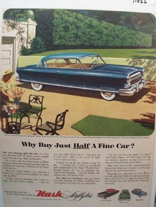 Nash Take the Key ad 1953