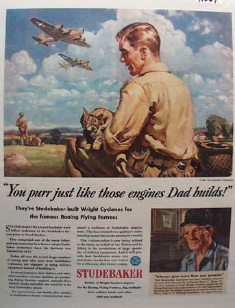 Studebaker Harry Ryan Ad 1943