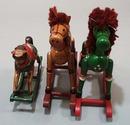 3 Rocking horses, Mama horse