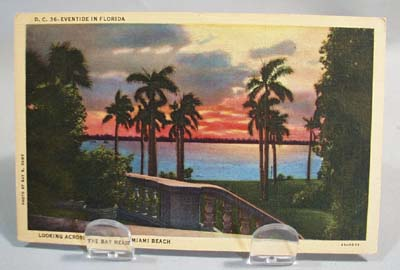 1940's Eventide in Florida # D C 36