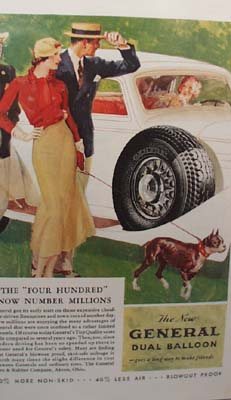 General Tire Four Hundred Ad 1933