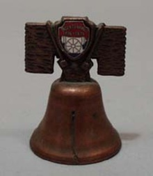 Souvineer Bell, copper bicentinial
