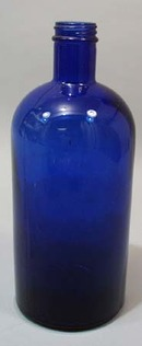 Nice old dark blue bottle