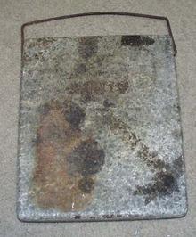 Primitive Granite Foot Warmer