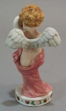Gorham Cupid Enhancements Cupid with Duck figurine