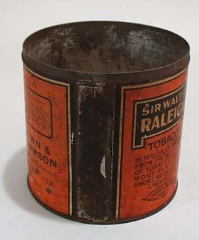 Sir Walter Raleigh Smoking Tobacco Tin,