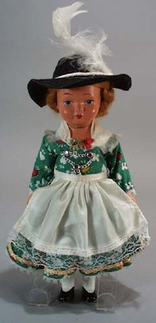 Plastic Doll with Swedish look