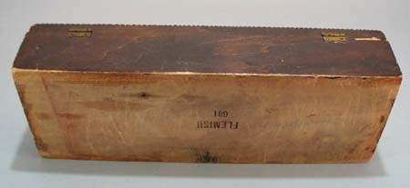 Flemish 681 wooden sewing box