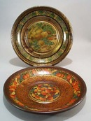 Old Metal decorated tins
