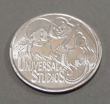 1996 Halloween Horror University Studio Coin