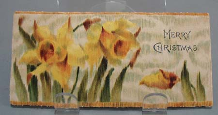 Old textured daffodil bookmark.