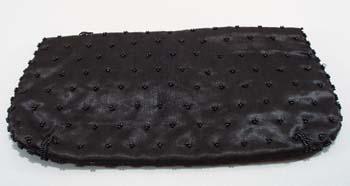 Britemode glass sequin black purse.