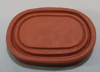 Sewer tile Sacajawea Festival ash tray