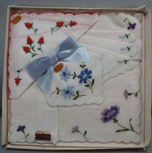 Switzerland 3 handkerchief set