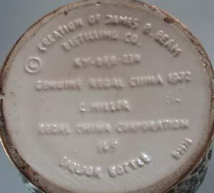1972 Mother Lodge James Beam Bottle