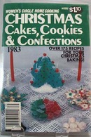 1983 Women's Circle Christmas Cakes and Confections