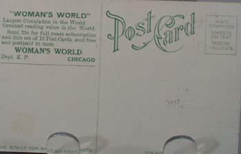 1909 PC Woman's' World Ad No. 10