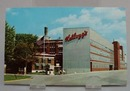 Kellogg's Bldg. Battle Creek MI Postcard