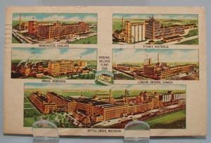 Kellogg Company Plants Postcard
