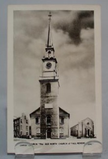 Christ Church Outside of Bldg. Postcard