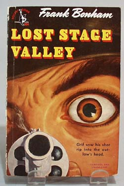 Lost Stage Valley paperback book by Frank Bonham