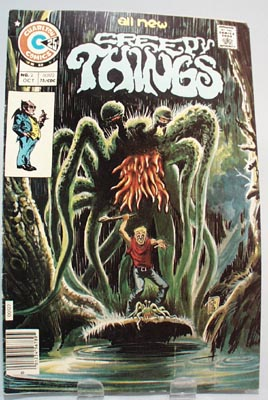 Charlton Comics Creepy Things No 2 Oct 75