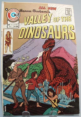 Charlton Comics Hanna Barbera's Valley of the Dinosaurs