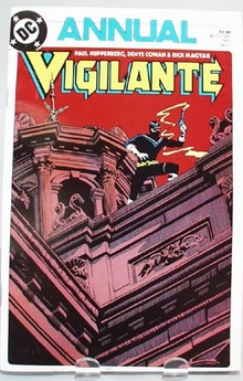 DC Annual Vigilante by Paul Kupperberg,
