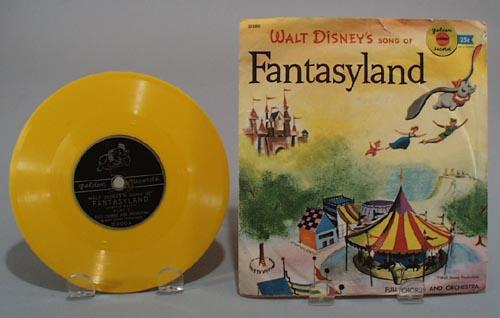 Walt Disney Fantasyland record.